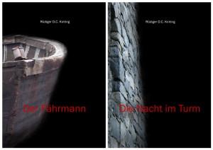 Cover zu Kurzgeschichten Der Fährmann und Die Nacht im Turm